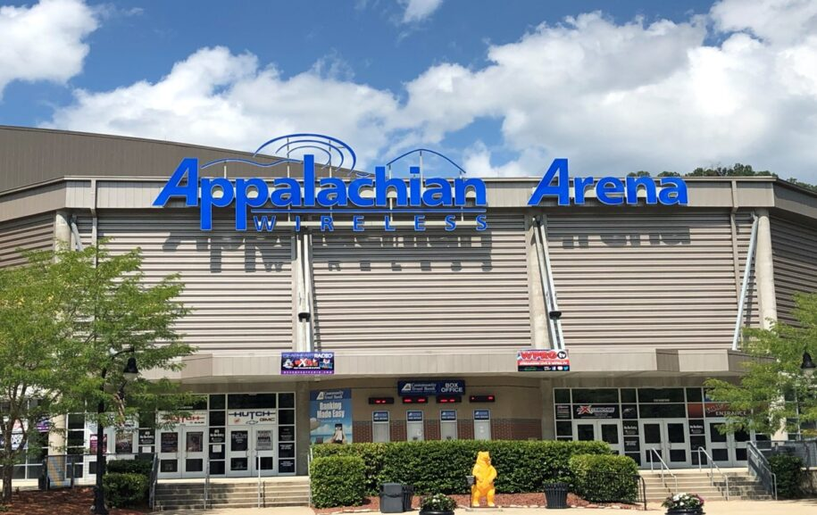 Appalachian wireless arena image