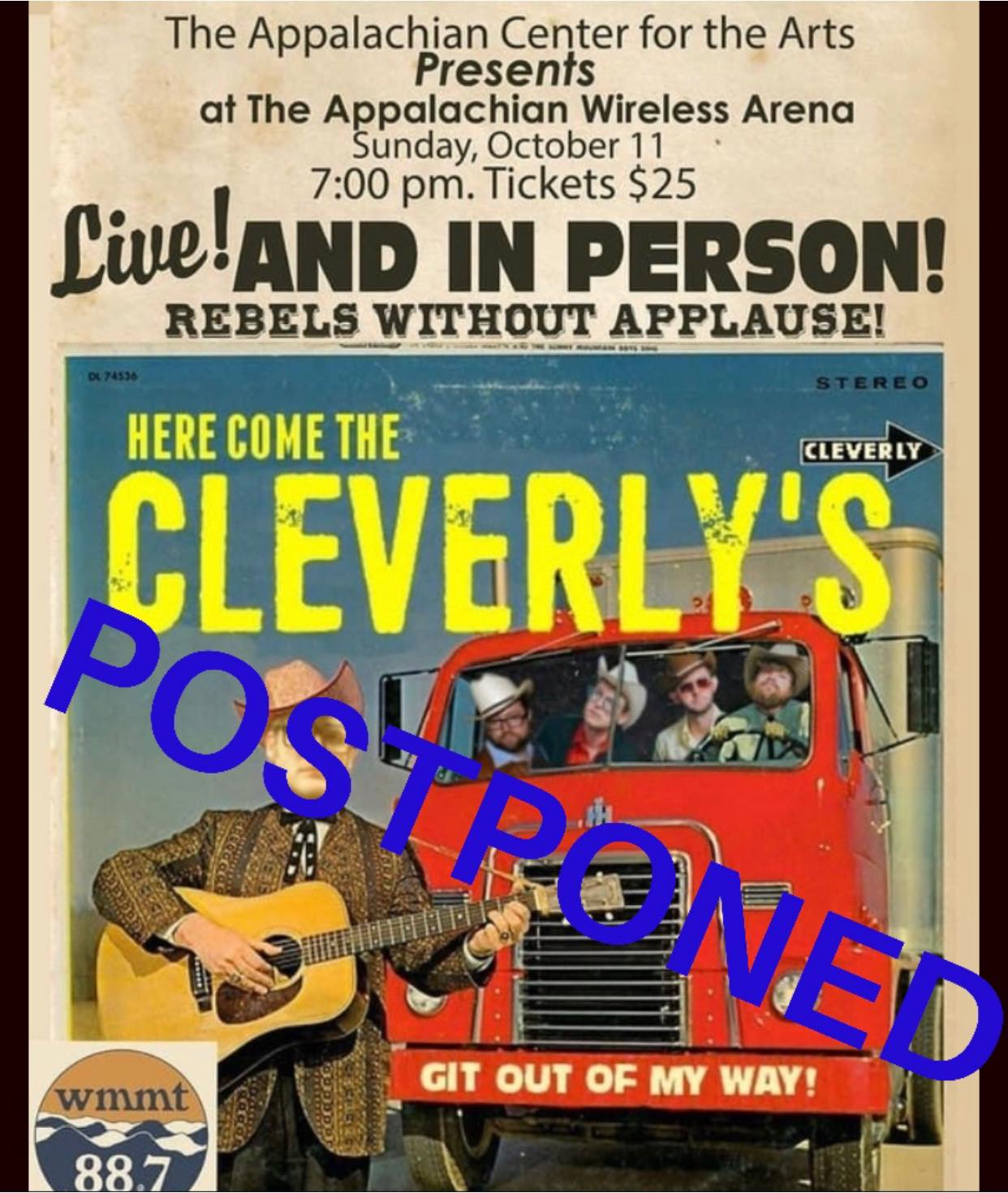 cleverlys postponed
