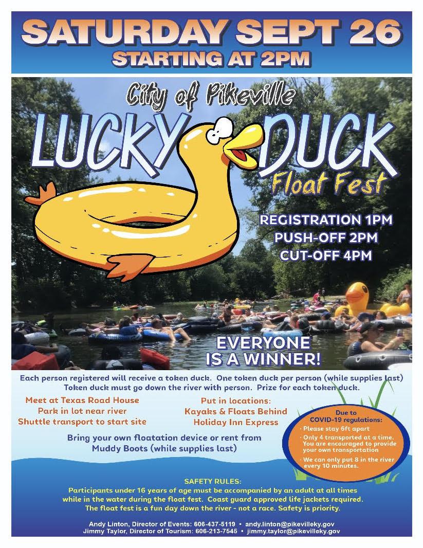 lucky duck flyer
