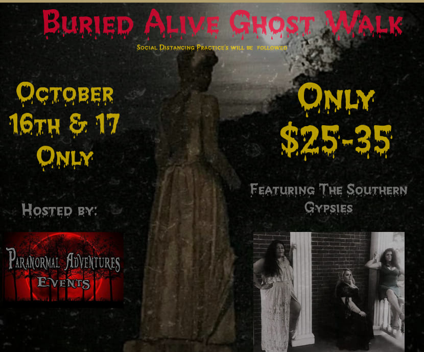 paranormal flyer