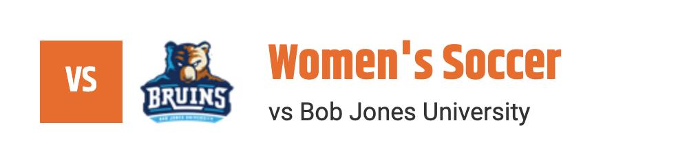 WSOC VS BOB JONES UNIVERSITY