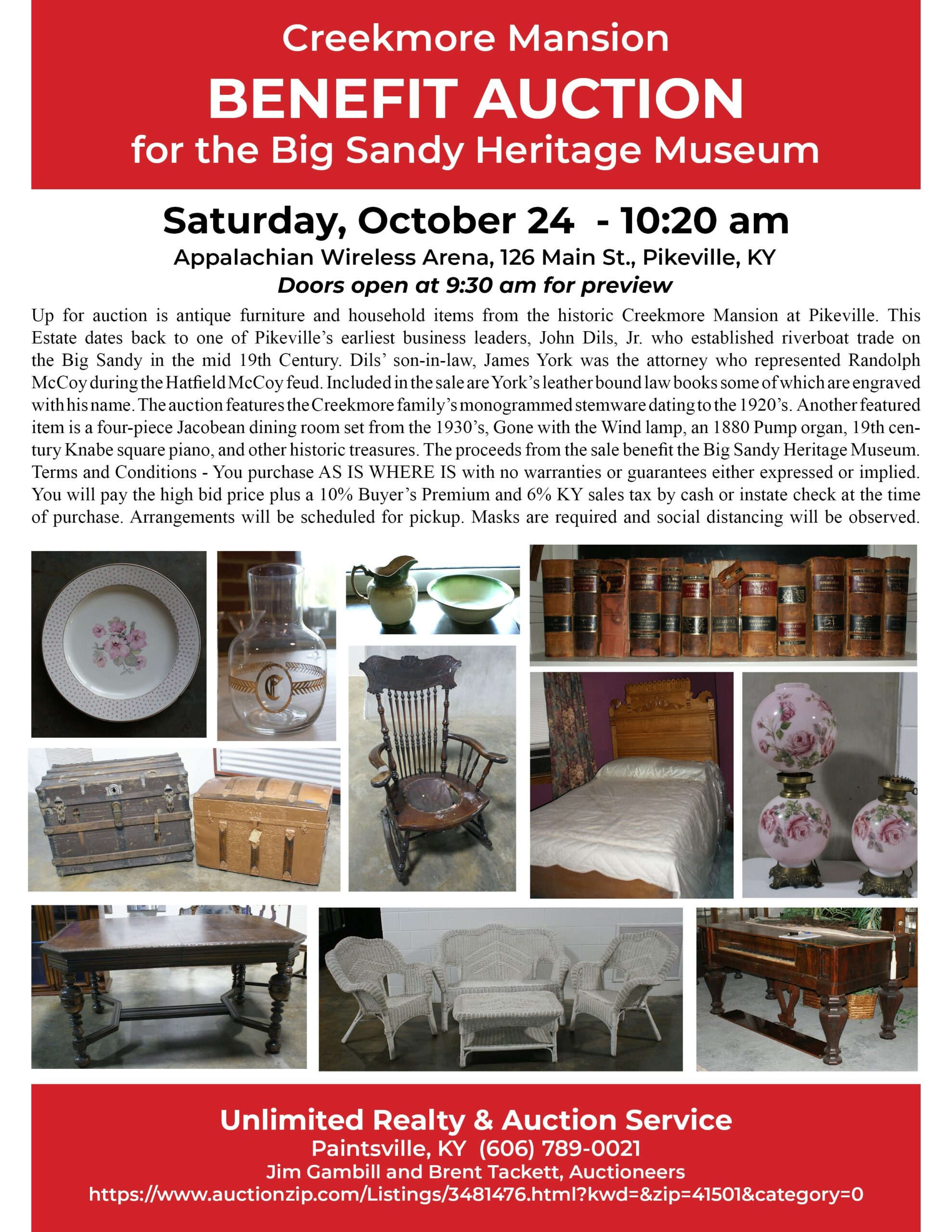 creekmore auction