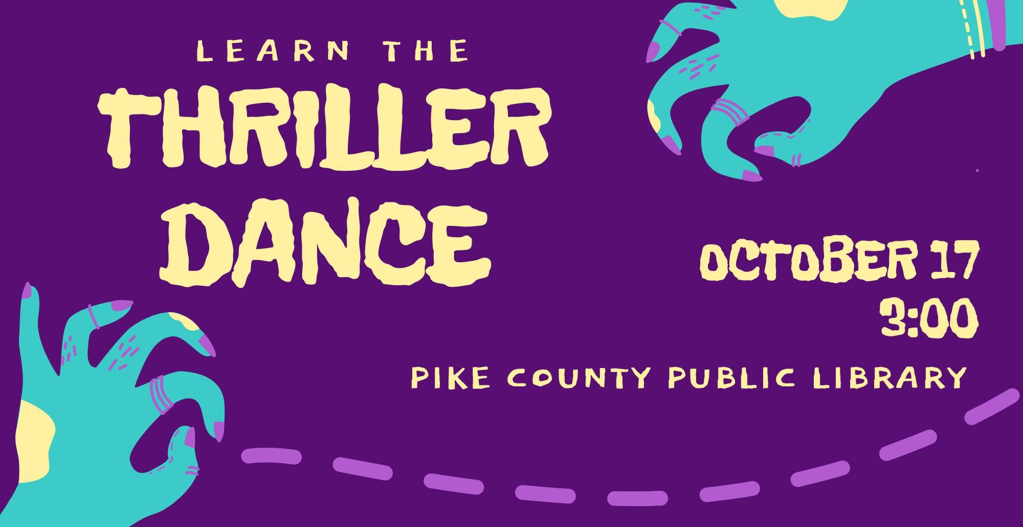 thriller dance event