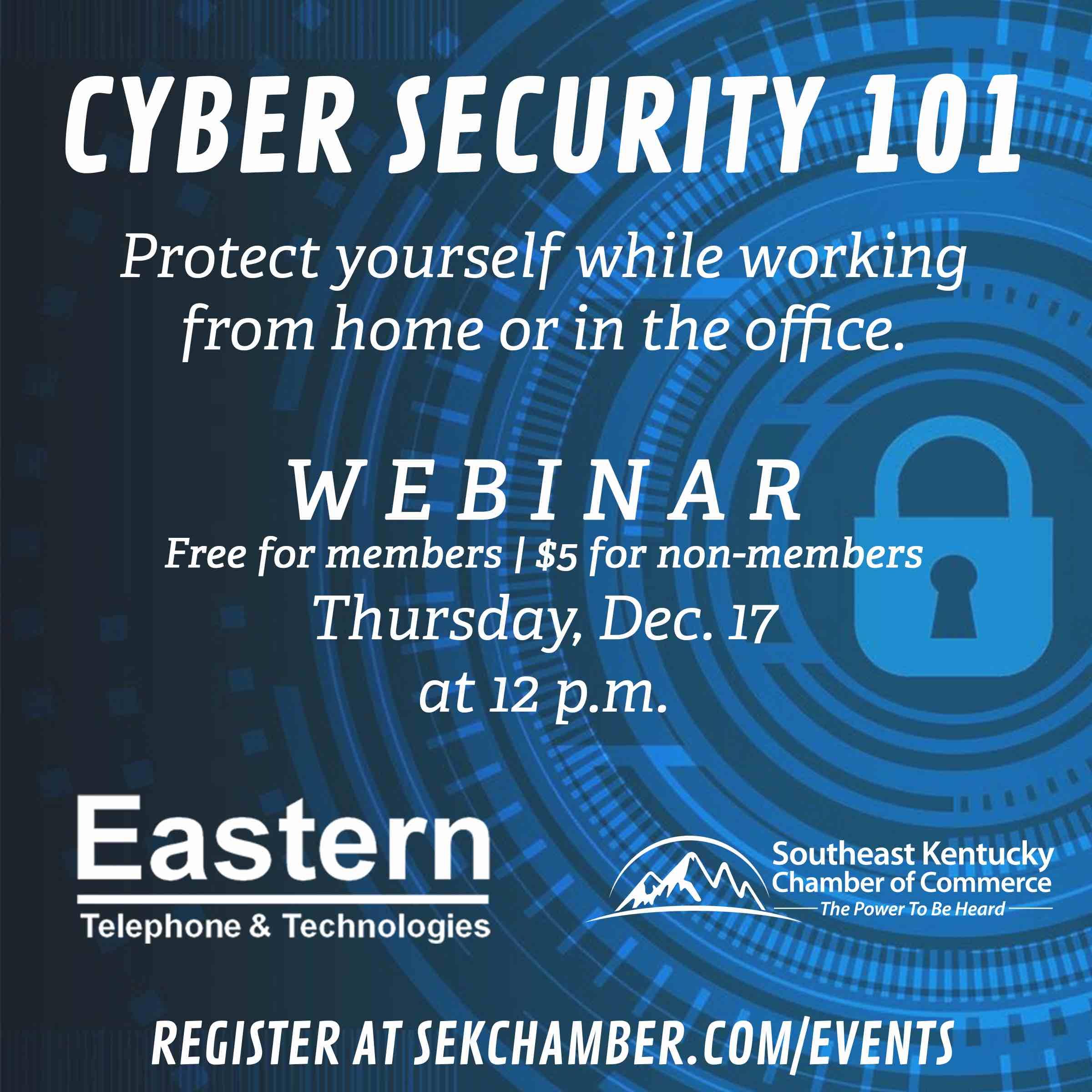 Cyber Security 101 Webinar