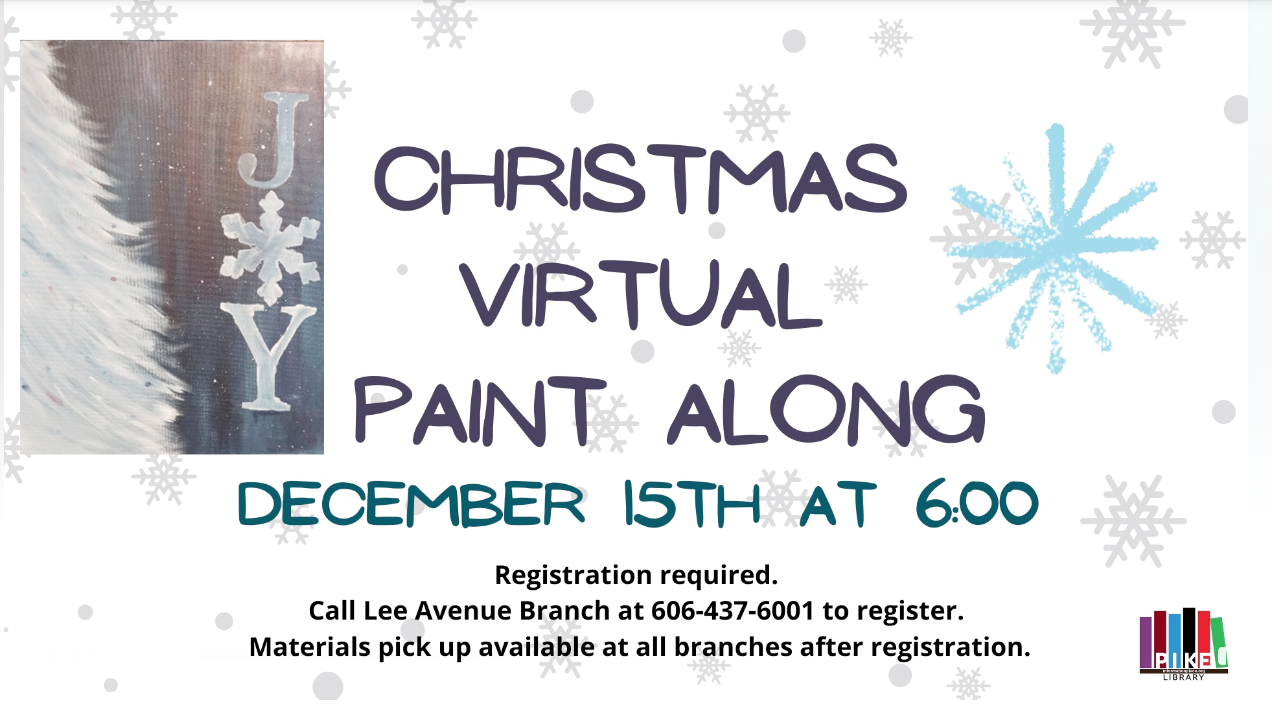 Christmas Virtual Paint Along
