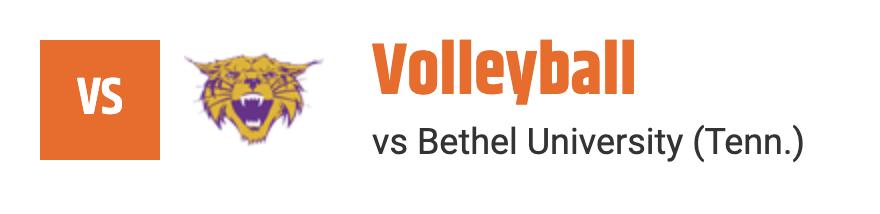 volleyball vs bethel