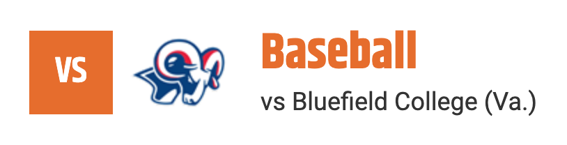 baseball vs bluefield