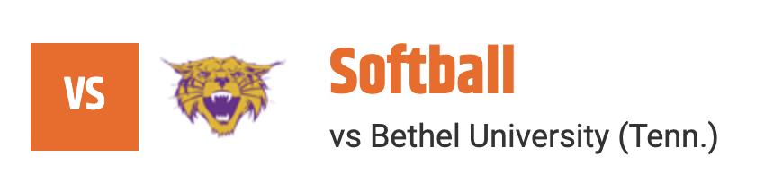 softball vs bethel