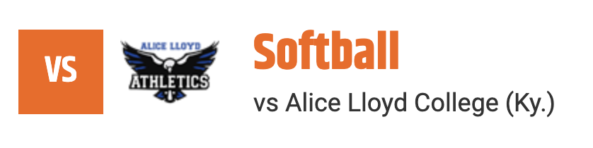 softball alice lloyd