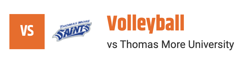 thomas more volleyball