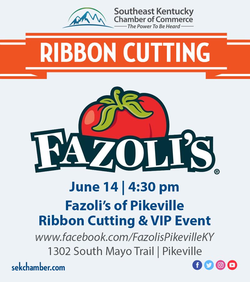Fazolis Ribbon Cutting Flyer