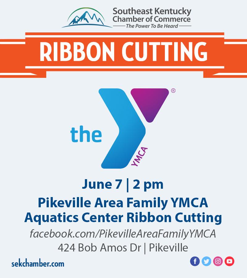YMCA Pool Ribbon Cutting Flyer