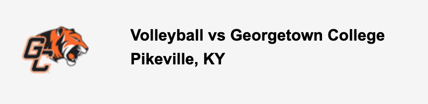 Volleyball vs Georgetown College