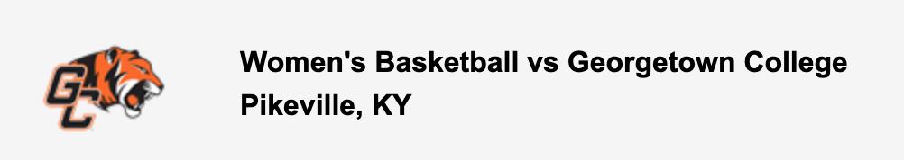 Women's Basketball vs Georgetown College