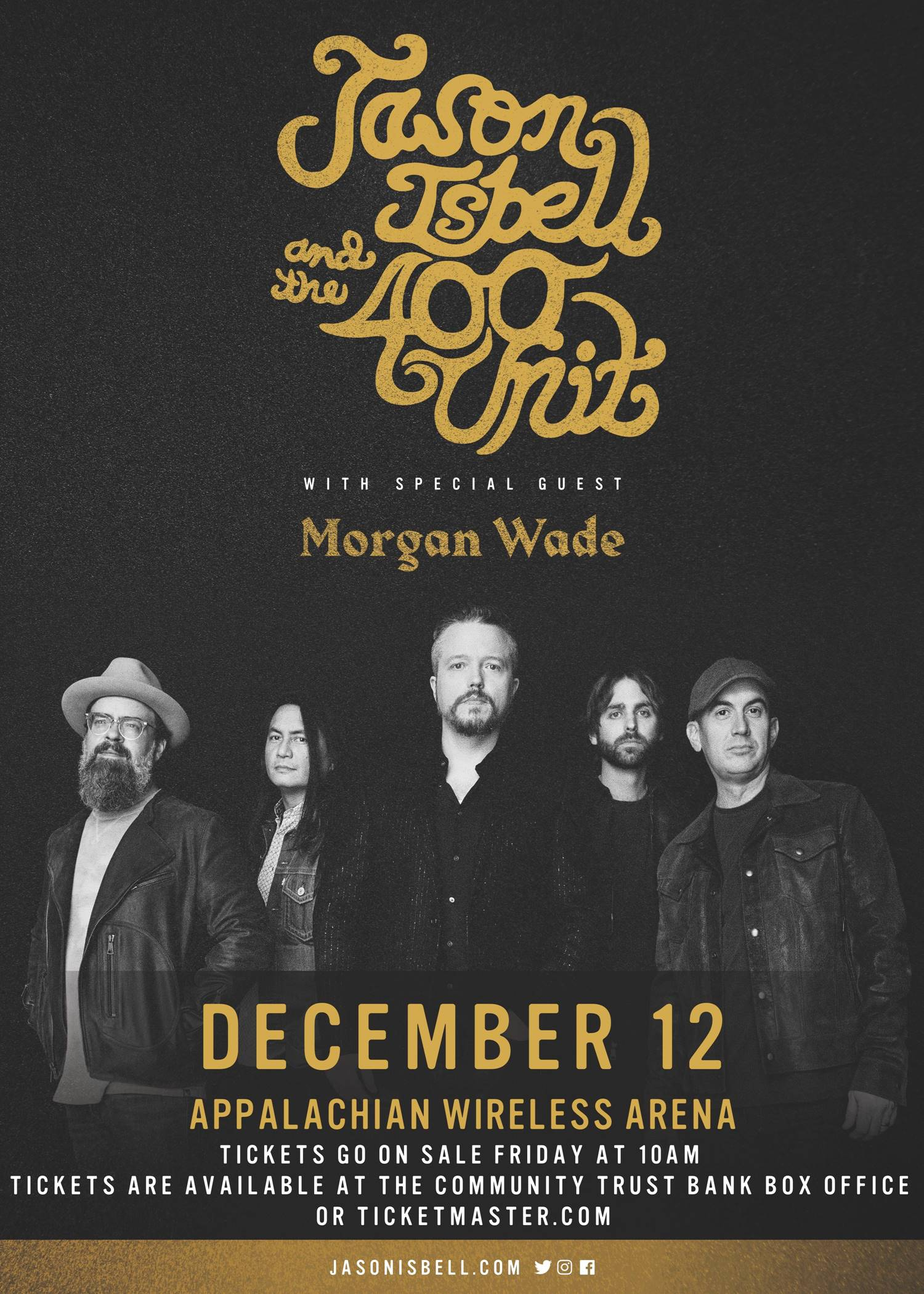 Jason Isbell and the 400 unit With special guest Morgan Wade